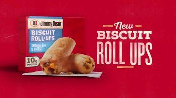 Jimmy Dean Biscuit Roll-Ups TV Spot, 'A New Kind of Breakfast'