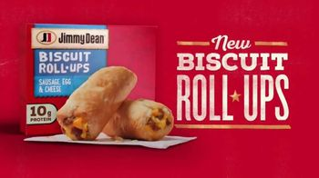 Jimmy Dean Biscuit Roll-Ups TV Spot, 'A New Kind of Breakfast' - Thumbnail 2