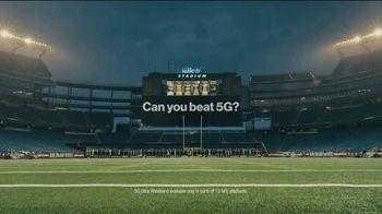 Verizon TV Spot, 'Can Rob Gronkowski Beat Verizon 5G?' Featuring Rob Gronkowski - Thumbnail 10