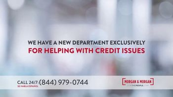 Morgan and Morgan Law Firm TV Spot, 'Credit Report Mistake or Identity Theft' - Thumbnail 4