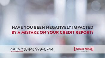 Morgan and Morgan Law Firm TV Spot, 'Credit Report Mistake or Identity Theft' - Thumbnail 7