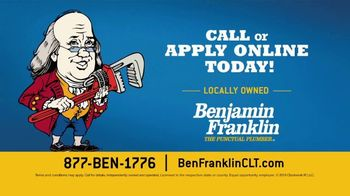 Benjamin Franklin Plumbing TV Spot, 'Knowledge: Join Our Team' - Thumbnail 8
