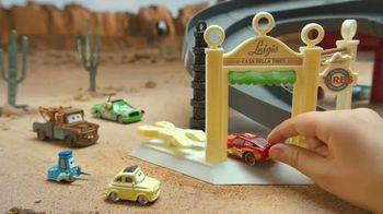 Disney Pixar Cars Radiator Springs Track Set TV Spot, 'Disney Junior: Off to the Races'