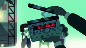 Dove Self-Esteem Project TV Spot, 'Cartoon Network: Body Functionality' - Thumbnail 1