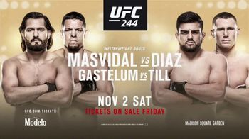 UFC 244 TV Spot, 'Masvidal vs. Diaz'