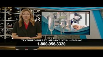 Cowper Law TV Spot, 'Textured Breast Implant Legal Helpline' - Thumbnail 1