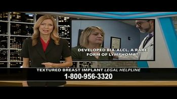 Cowper Law TV Spot, 'Textured Breast Implant Legal Helpline' - Thumbnail 2