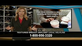 Cowper Law TV Spot, 'Textured Breast Implant Legal Helpline' - Thumbnail 4