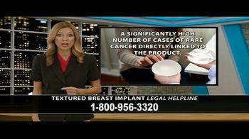 Cowper Law TV Spot, 'Textured Breast Implant Legal Helpline' - Thumbnail 5