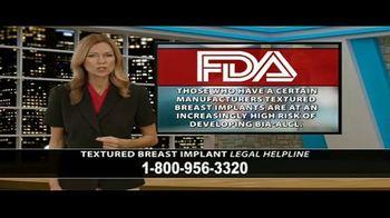 Cowper Law TV Spot, 'Textured Breast Implant Legal Helpline' - Thumbnail 6