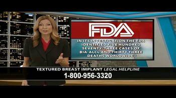 Cowper Law TV Spot, 'Textured Breast Implant Legal Helpline' - Thumbnail 8