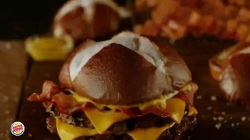 Burger King Pretzel Bacon King TV Spot, 'Crowned With Pretzel Bun' - Thumbnail 1