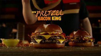 Burger King Pretzel Bacon King TV Spot, 'Crowned With Pretzel Bun' - Thumbnail 10