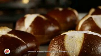 Burger King Pretzel Bacon King TV Spot, 'Crowned With Pretzel Bun' - Thumbnail 6