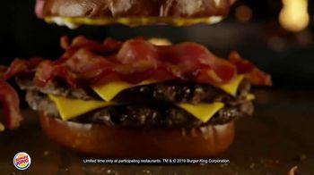 Burger King Pretzel Bacon King TV Spot, 'Crowned With Pretzel Bun' - Thumbnail 7