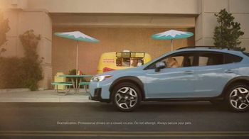 Subaru Crosstrek TV Spot, 'Dog Tested: Lunch Stop' [T1] - Thumbnail 1