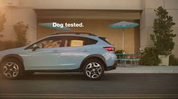 Subaru Crosstrek TV Spot, 'Dog Tested: Lunch Stop' [T1] - Thumbnail 9