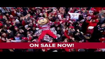 The Ohio State University Buckeyes Football TV Spot, 'Be Here: Single Game Tickets' - Thumbnail 8