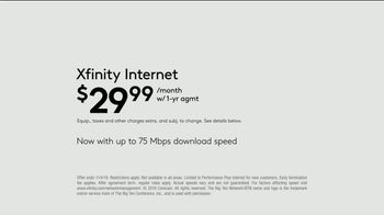 XFINITY Gig Speed Internet TV Spot, 'Fan Favorite Venue: $29.99 a Month' Featuring Amy Poehler - Thumbnail 8
