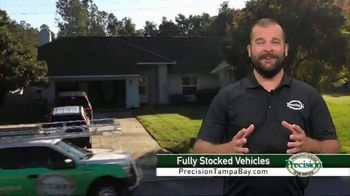 Precision Door Service of Tampa Bay TV Spot, 'Fully Stocked Vehicles'