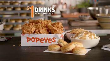 Popeyes Family Meal TV Spot, 'More Than Enough Flavor' - Thumbnail 3
