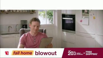Overstock.com Fall Home Blowout Sale TV Spot, 'Table Runner' - Thumbnail 1