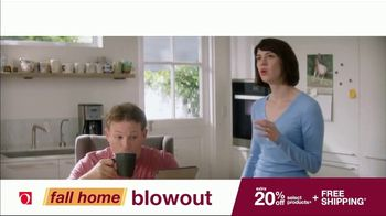 Overstock.com Fall Home Blowout Sale TV Spot, 'Table Runner' - Thumbnail 2