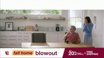 Overstock.com Fall Home Blowout Sale TV Spot, 'Table Runner'