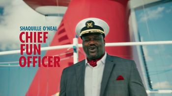 Carnival TV Spot, 'Tour Carnival Vista with New CFO Shaquille O'Neal: Cruises from $369' - Thumbnail 1