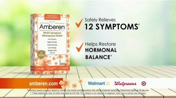 Amberen Menopause Relief TV Spot, 'Relieves Twelve Menopause Symptoms' Featuring Mary Lou Retton - Thumbnail 1
