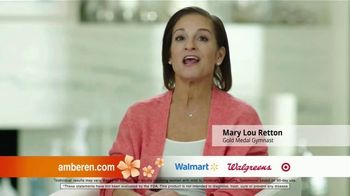 Amberen Menopause Relief TV Spot, 'Relieves Twelve Menopause Symptoms' Featuring Mary Lou Retton - Thumbnail 2