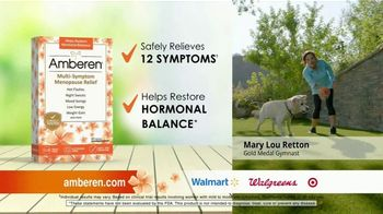 Amberen Menopause Relief TV Spot, 'Relieves Twelve Menopause Symptoms' Featuring Mary Lou Retton - Thumbnail 3