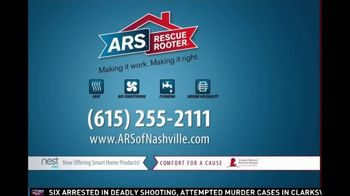 ARS Rescue Rooter TV Spot, 'Nashville: $39 Annual Tune-Up' - Thumbnail 3