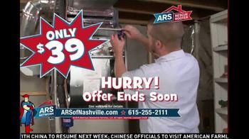 ARS Rescue Rooter TV Spot, 'Nashville: $39 Annual Tune-Up'