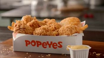 Popeyes Wild Honey Mustard Boneless Wings TV Spot, 'Dip Everything'