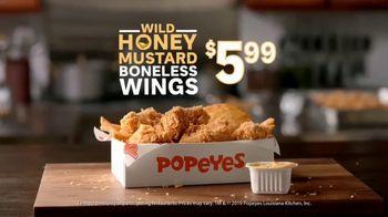 Popeyes Wild Honey Mustard Boneless Wings TV Spot, 'Dip Everything' - Thumbnail 10