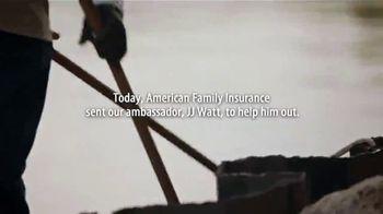 American Family Insurance TV Spot, 'Clean Dreaming' Featuring J.J. Watt - Thumbnail 4