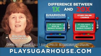 SugarHouse TV Spot, 'One-Time Wagering' - Thumbnail 2