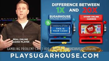 SugarHouse TV Spot, 'One-Time Wagering' - Thumbnail 3