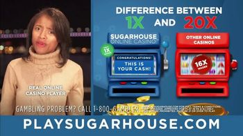 SugarHouse TV Spot, 'One-Time Wagering'