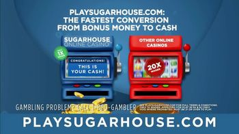 SugarHouse TV Spot, 'One-Time Wagering' - Thumbnail 5