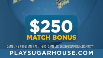 SugarHouse TV Spot, 'One-Time Wagering' - Thumbnail 6