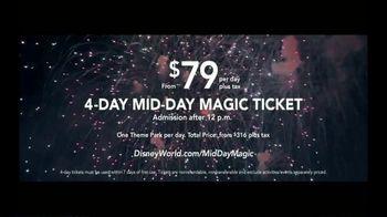 Disney World Four Day Mid-Day Magic Ticket TV Spot, 'Closer' - Thumbnail 9