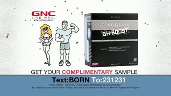 Nugenix GH-Boost TV Spot, 'From the Time You're Born' - Thumbnail 9