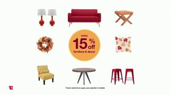 Overstock.com Fall Home Blowout TV Spot, 'Cozy Up to Savings' - Thumbnail 3