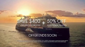 Celebrity Cruises TV Spot, 'Dream' Song by Jefferson Airplane - Thumbnail 10