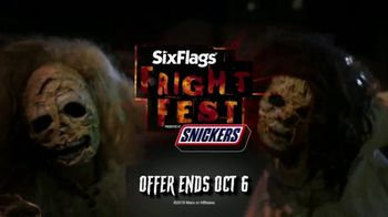 Six Flags Fright Fest Opening Sale TV Spot, 'The Haunt' - Thumbnail 8