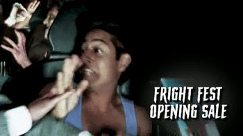 Six Flags Fright Fest Opening Sale TV Spot, 'Take Your Fear for a Ride' - Thumbnail 5