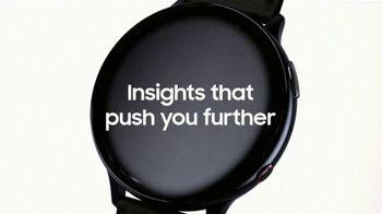 Samsung Galaxy Watch Active2 TV Spot, 'Insights' - Thumbnail 3