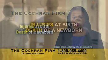 The Cochran Law Firm TV Spot, 'Injuries at Birth'